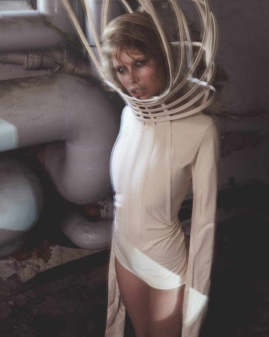 Female fashion editorial with model Luisa Faust by Heidi Rondak for Cake Magazine