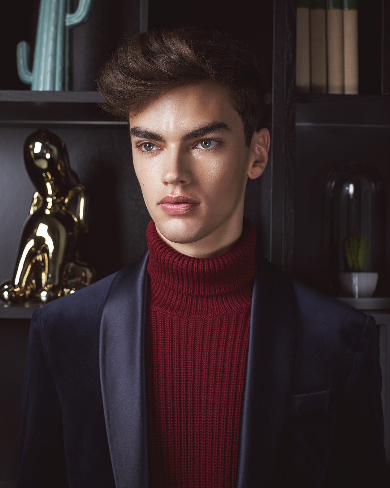 Male fashion editorial with model Alexander Weber by Heidi Rondak for VELVET Magazine
