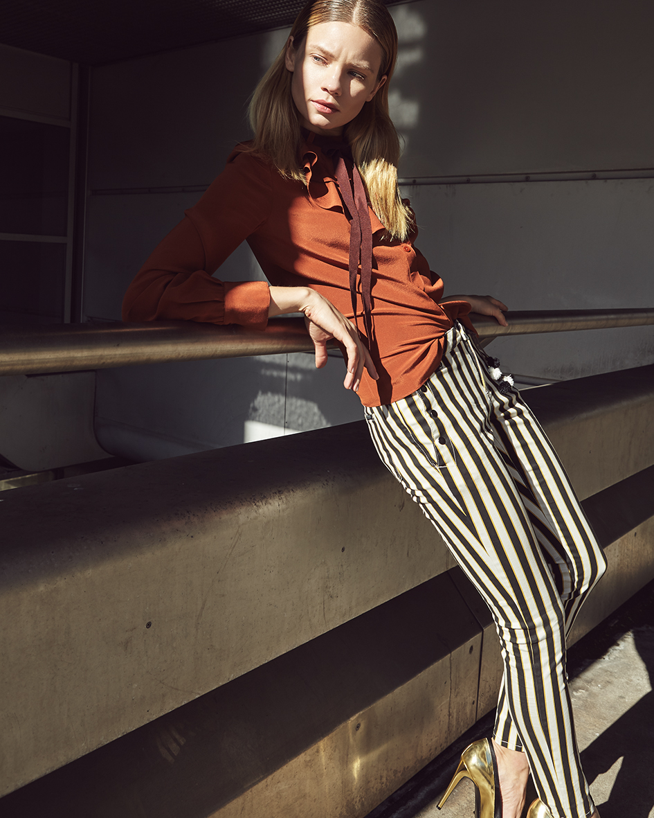 Architecture & fashion editorial with model Diana D. from Modelfabrik by Heidi Rondak & OCAP