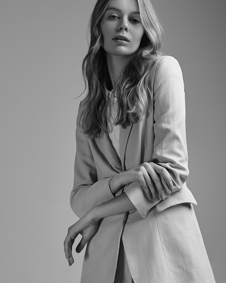 Fashion editorial with model Violet Burak from TFM by Heidi Rondak