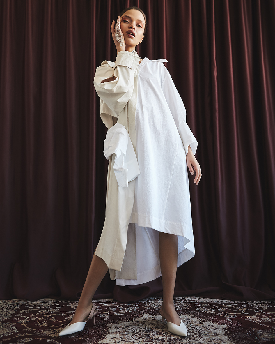 Female fashion editorial with model Stella Klein from M4 Models by Heidi Rondak for FACTICE Magazine