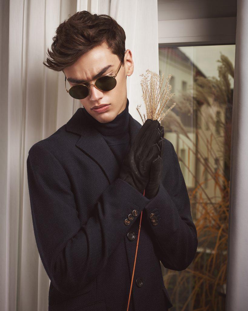 Male fashion editorial with model Alexander Weber by Heidi Rondak for VELVET Magazine