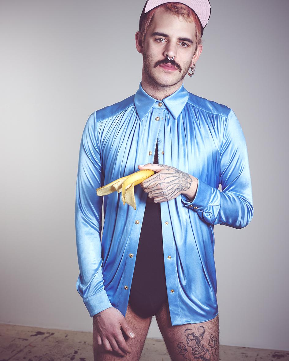 Male fashion editorial with model Rocco Kowalski by Heidi Rondak for Kaltblut Magazine