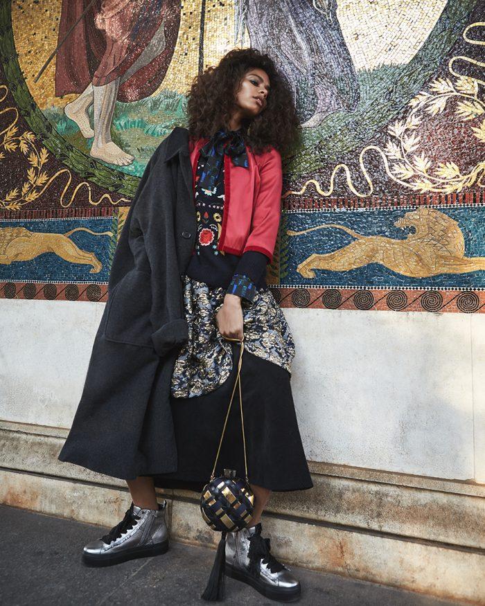 Female fashion editorial with model Joyce Almeida from Munich Models by Heidi Rondak for The Forest Magazine