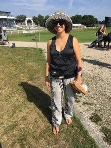 Stylist Neesha Meusch at Golf Club München Riem