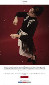 Model Laura Belle (Seeds) captured by Heidi Rondak for Heidi's Christmas calendar