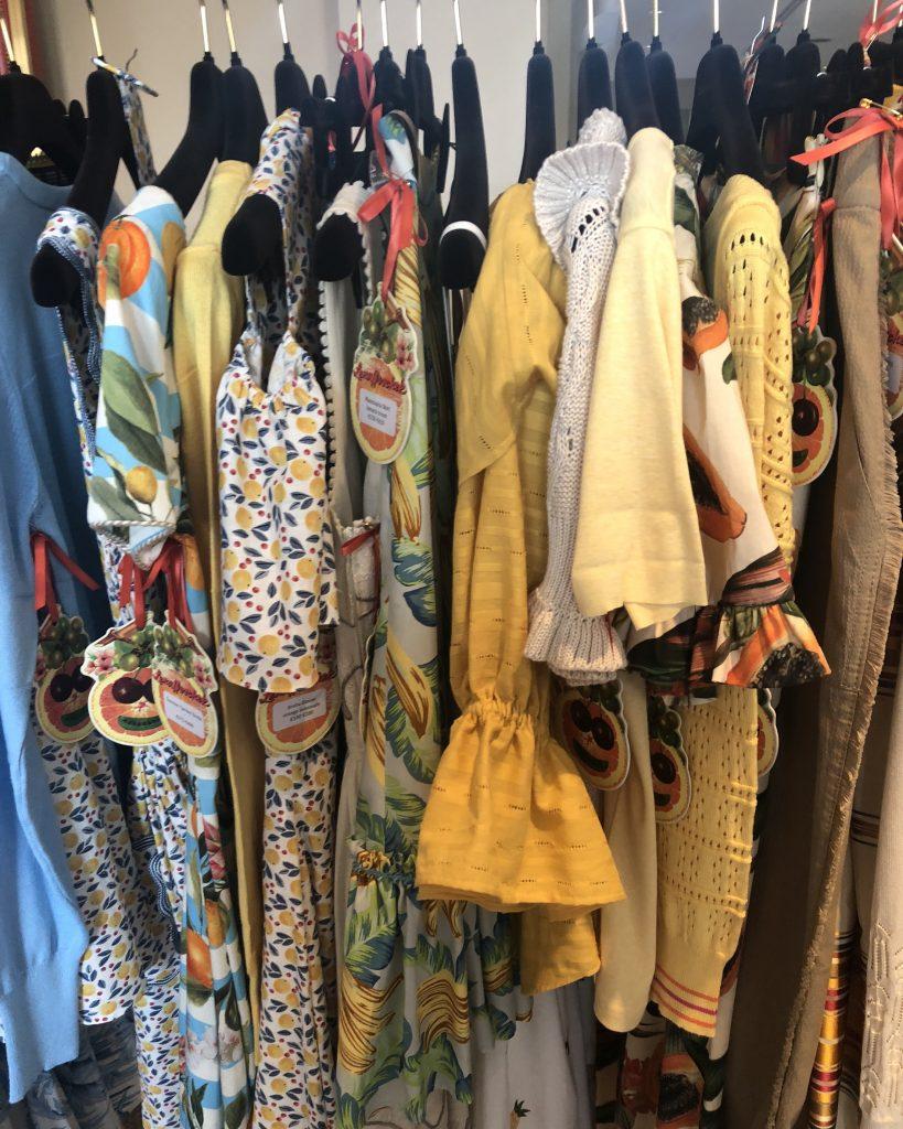Lena Hoschek collection at SPREAD pop-up showroom