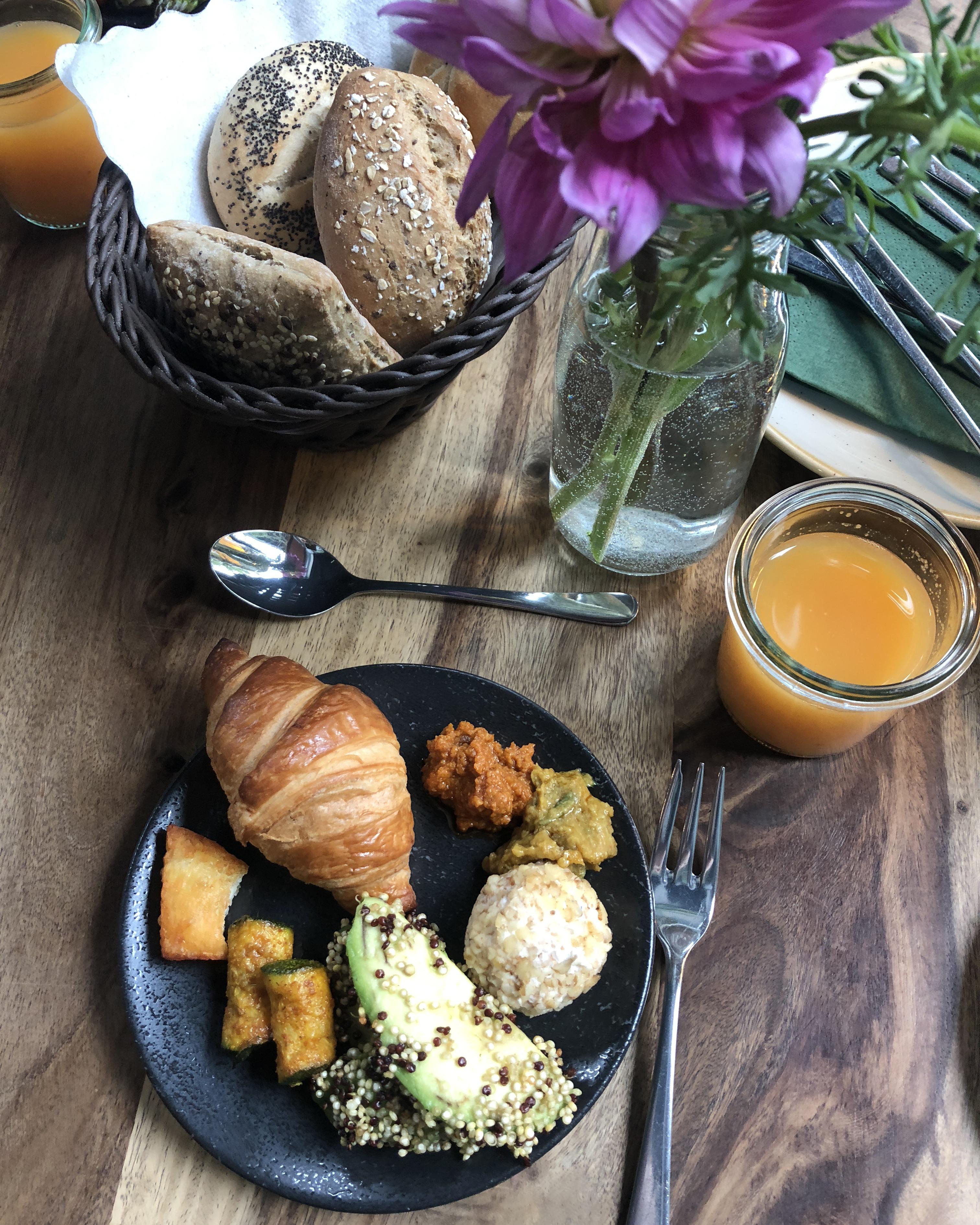 Breakfast in Ki-Nova, Berlin