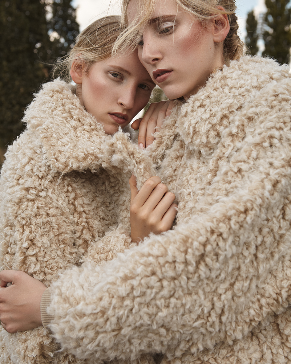 Fashion editorial with models Stine & Charlotte from MEGA Model Agency by Heidi Rondak for The Forest Magazine Spring Summer 2018