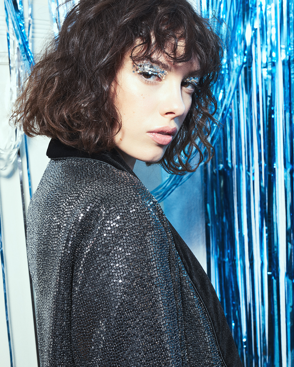 Fashion editorial with model Leslie from M4 Models by Heidi Rondak for Electric Feel Magazine