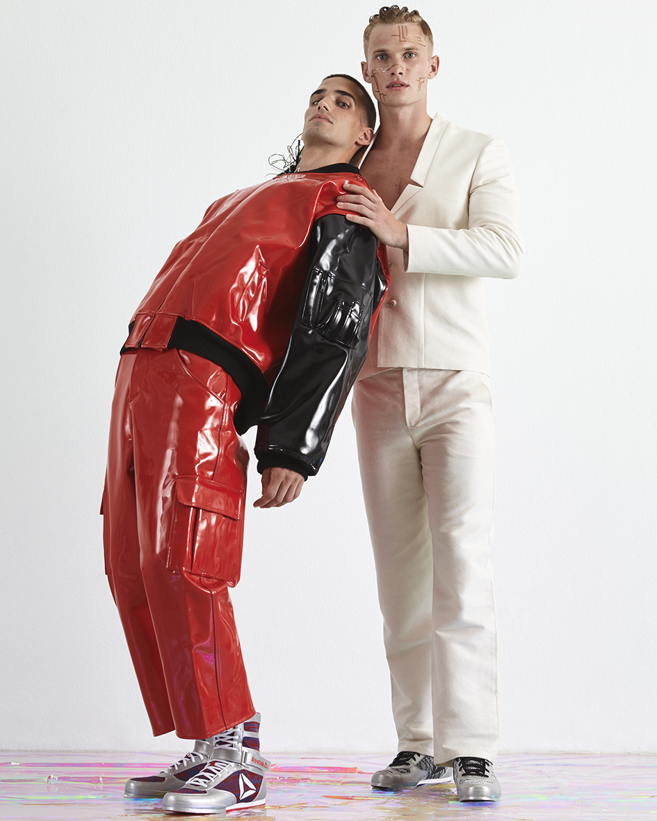 Cover Story for Vangardist Magazine with models Philip Milojevic and Lucas Ernst of Promod Model Agency by Heidi Rondak