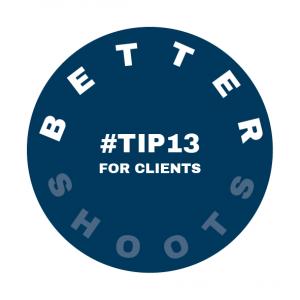 Tip 13 for Better Shoots by Heidi Rondak