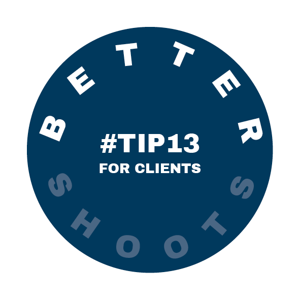 Tip 13 for Better Shoots by Heidi Rondak