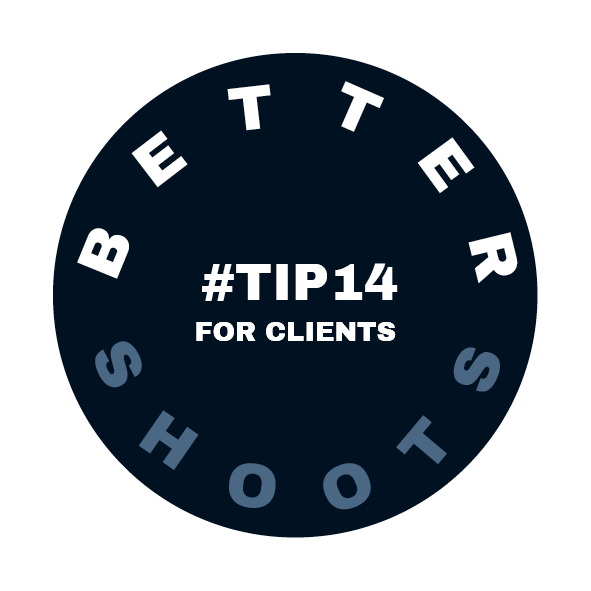 Tip 14 for Better Shoots by Heidi Rondak