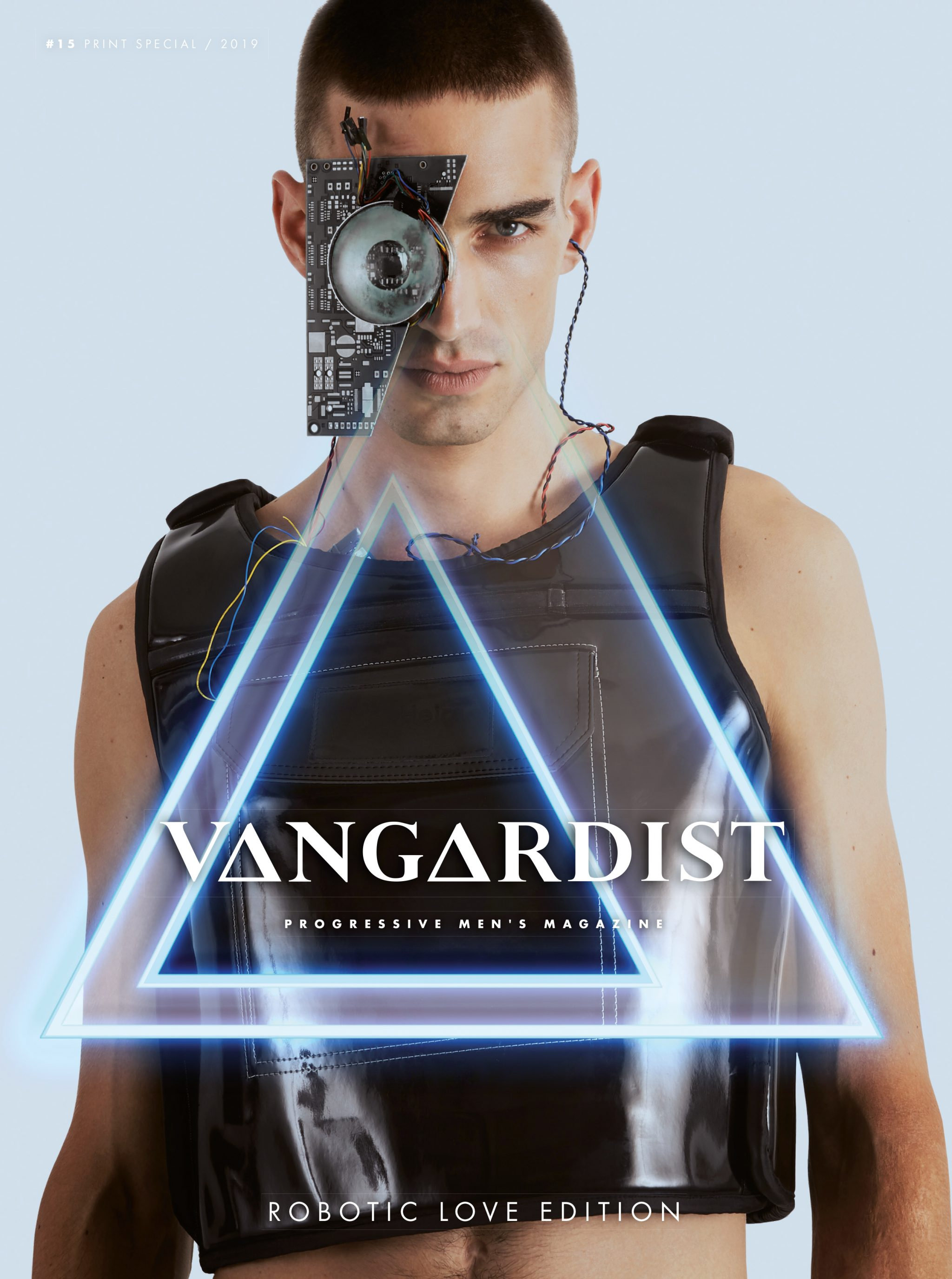 Cover for Vangardist Magazine with models Philip Milojevic and Lucas Ernst of Promod Model Agency by Heidi Rondak