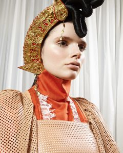 Fashion editorial with model Lila Poter of ICONIC Management by Heidi Rondak for l'Officiel Llithuania